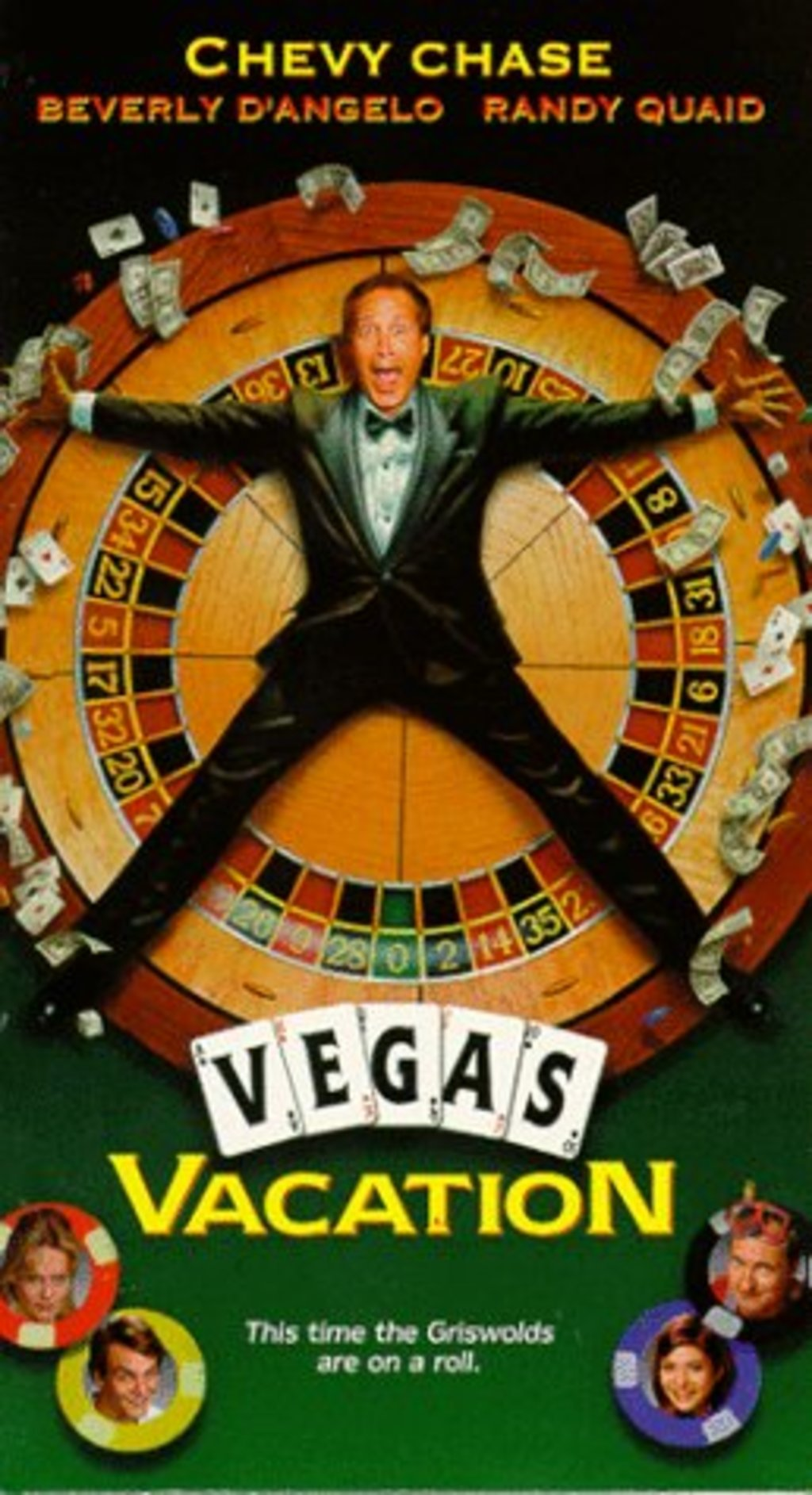 Chevy Chase Randy Quaid Signed Vegas: Watch Vegas Vacation On Netflix Today!