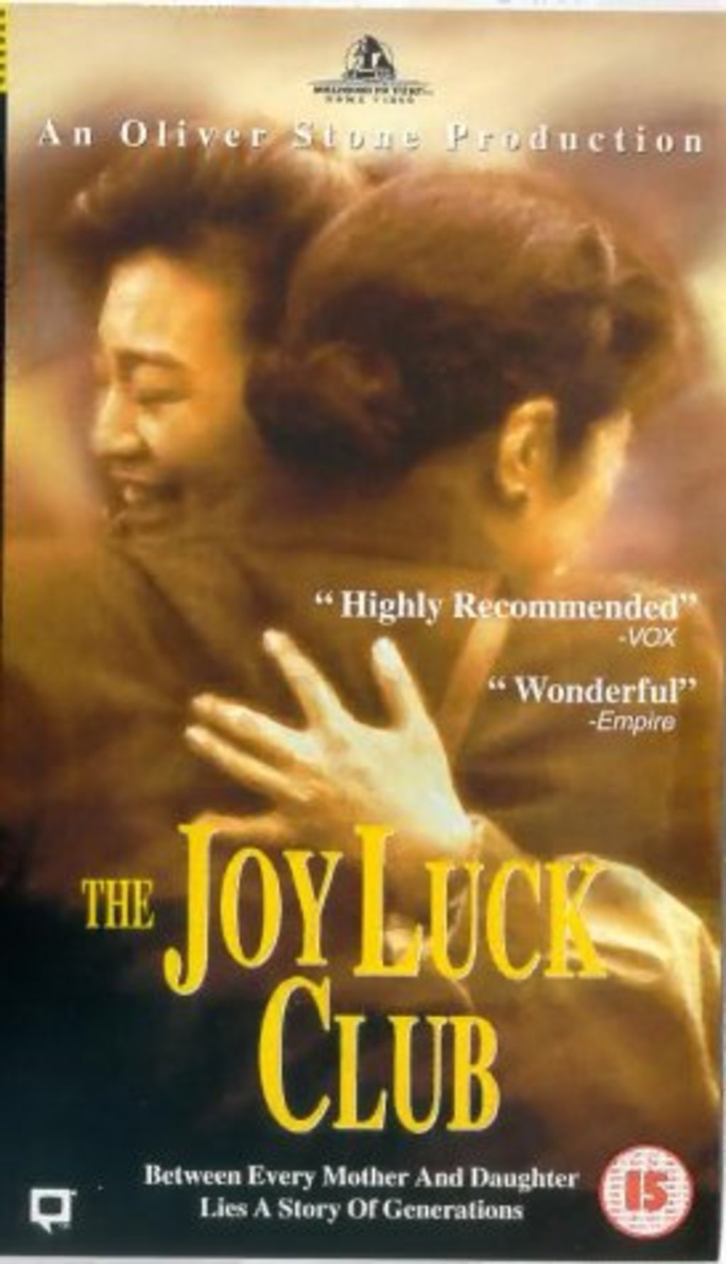 an analysis of chinese and american cultures in the joy luck club movie Joy luck club 3 the joy luck club movie reaction paper the joy luck club is a chinese or chinese-american chinese and american (or western) cultures were.