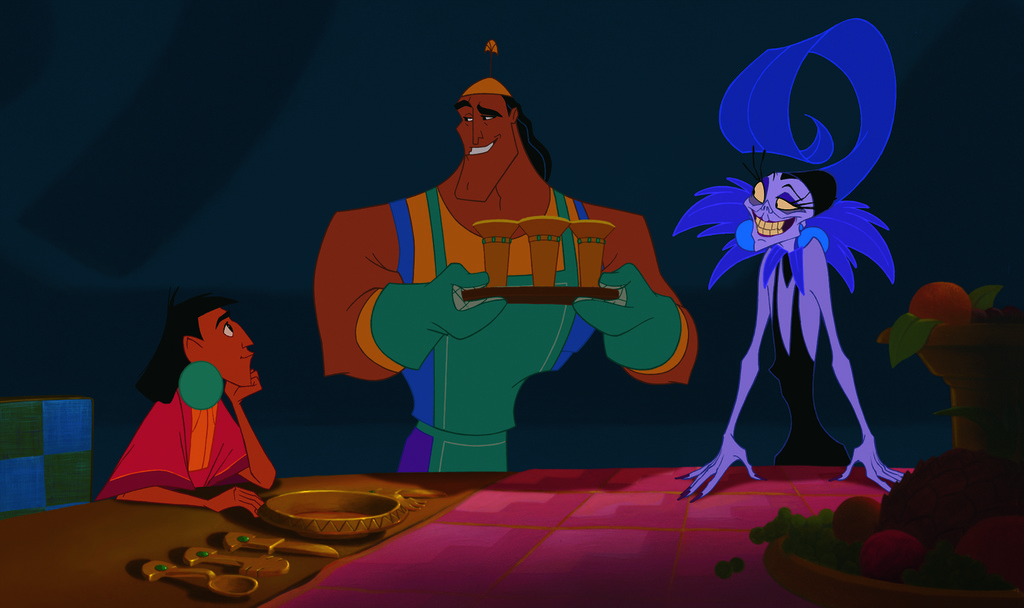 the conflict theory in the animated film the emperors new groove Filled animation film of a classic cartoon the animated film makes the following are four examples of situations in the emperors new groove.