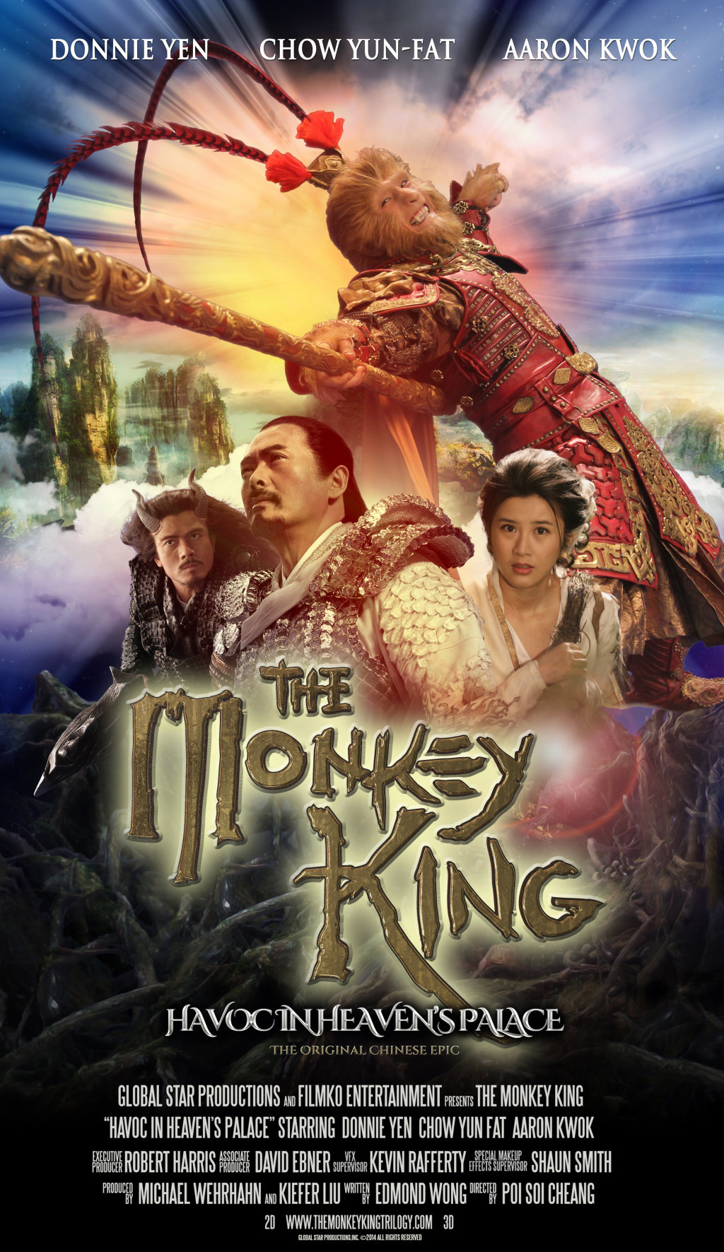 monkey king movies chinese netflix hindi dvd film hollywood dubbed havoc da palace poster ji nao gong brrip kwok aaron