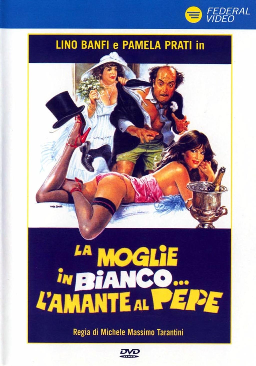Image result for LA MOGLIE IN BIANCO L'AMANTE AL PEPE ( 1981 ) POSTER