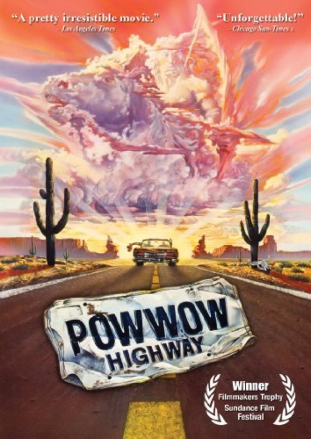 an analysis of the movie powwow highway Pow wow highway has been added to your cart powwow highway is a tale of native american life today the movie does have a few plot flaws.