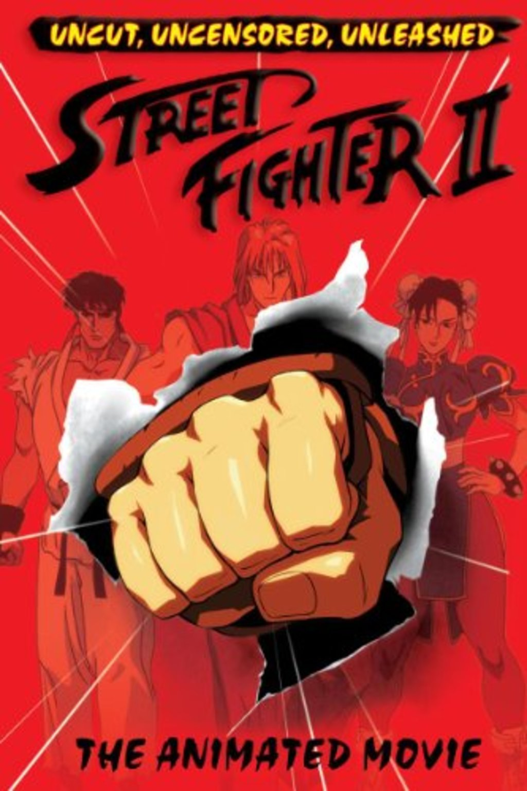 Watch Street Fighter Ii The Animated Movie On Netflix Today