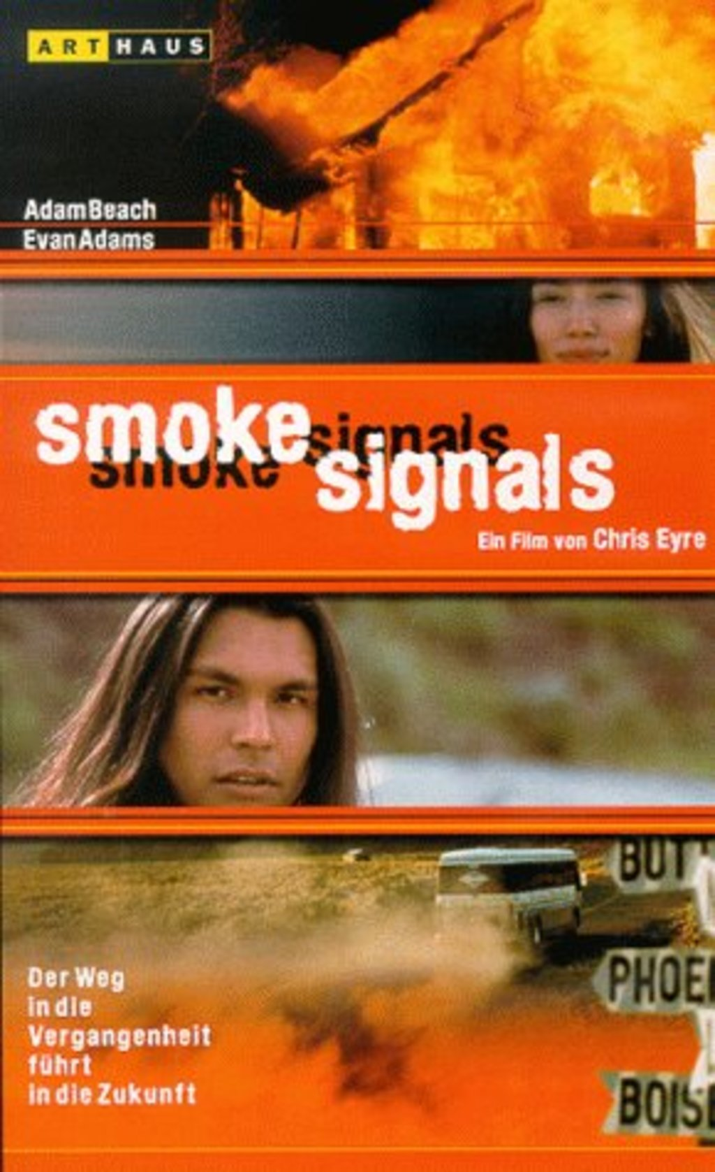 an analysis of the film technique used in the movie smoke signals Known as the first full-length feature film to be almost entirely written, directed, co-produced, and acted by native americans, smoke signals (1998) is a quintessential road movie that attempts to investigate the complex nature of indigenous relationships, cultures, and contemporary realities, especially the relationship between native.