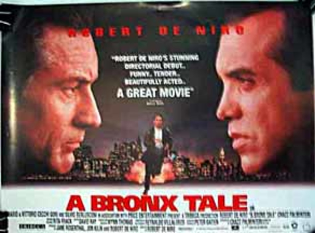 a bronx tale racism A bronx tale italian-americans, 1993, 122 minutes, r for violence and profanity year after year my students rate a bronx tale higher than any other film we see it is easy to see why.