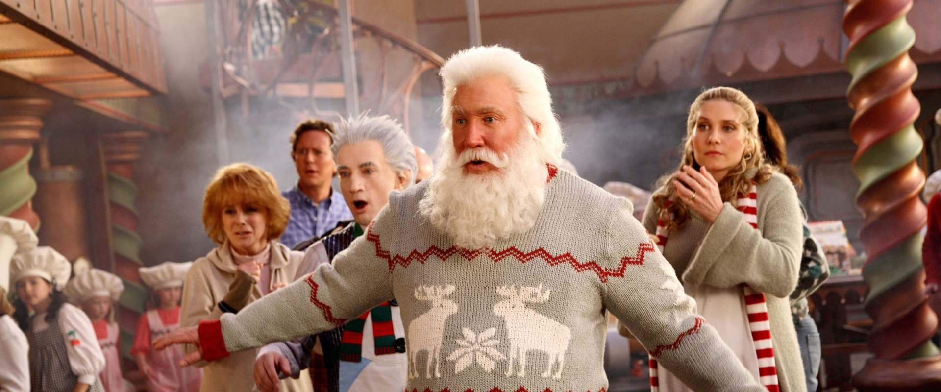 The Santa Clause 3: The Escape Clause background 2