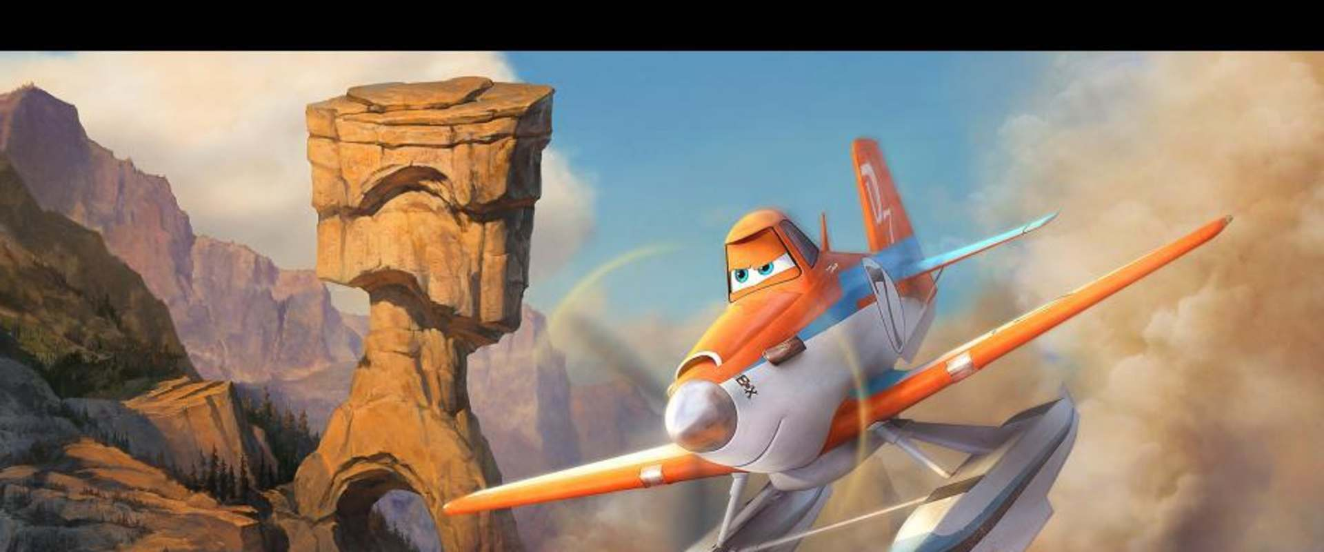 Planes: Fire & Rescue background 2