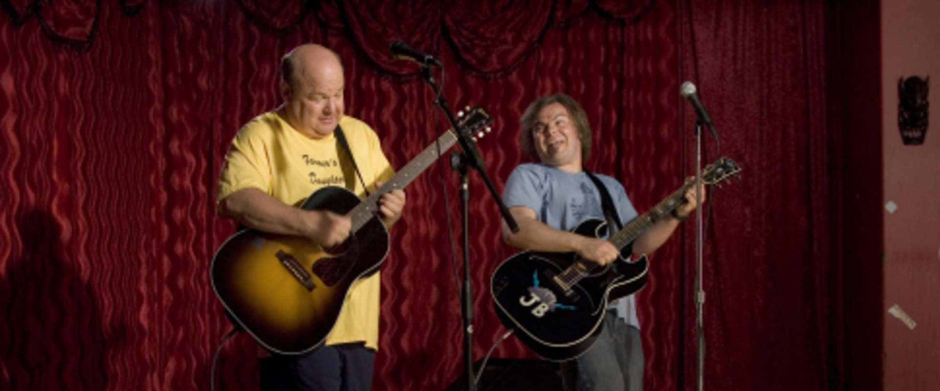 Tenacious D in The Pick of Destiny background 2