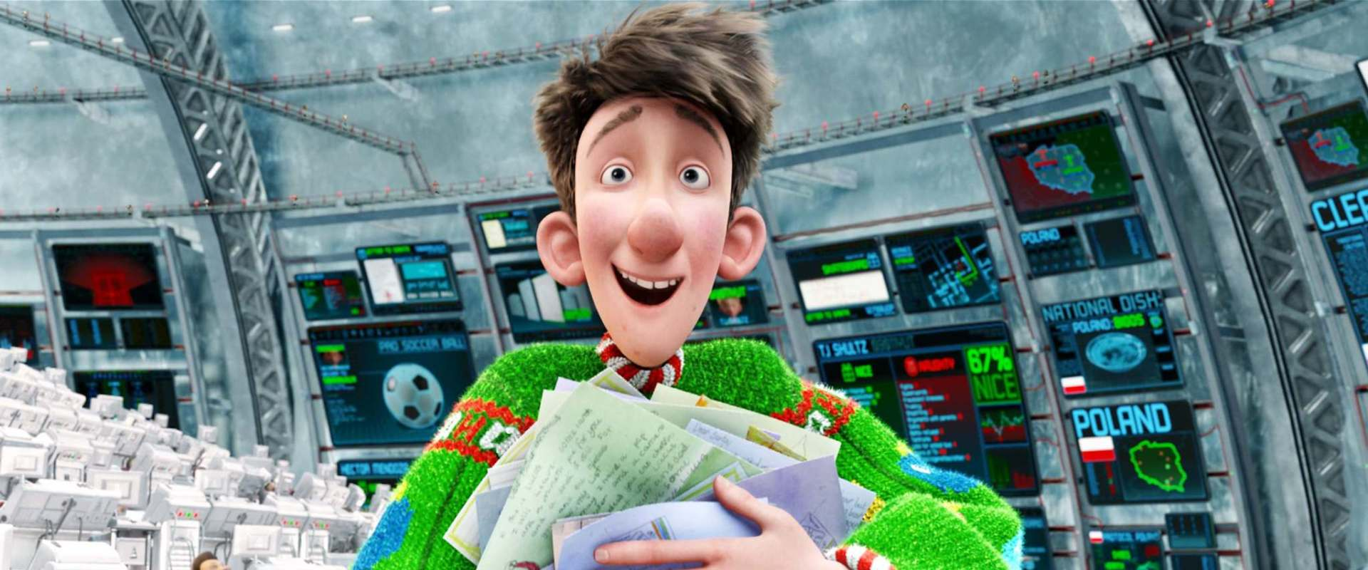 Arthur Christmas background 2
