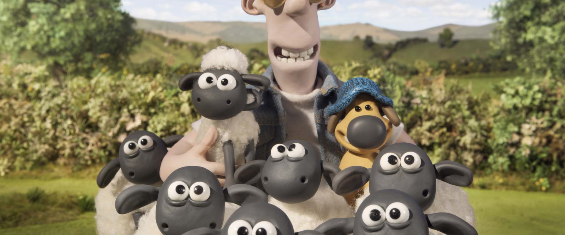 Shaun the Sheep Movie background 1