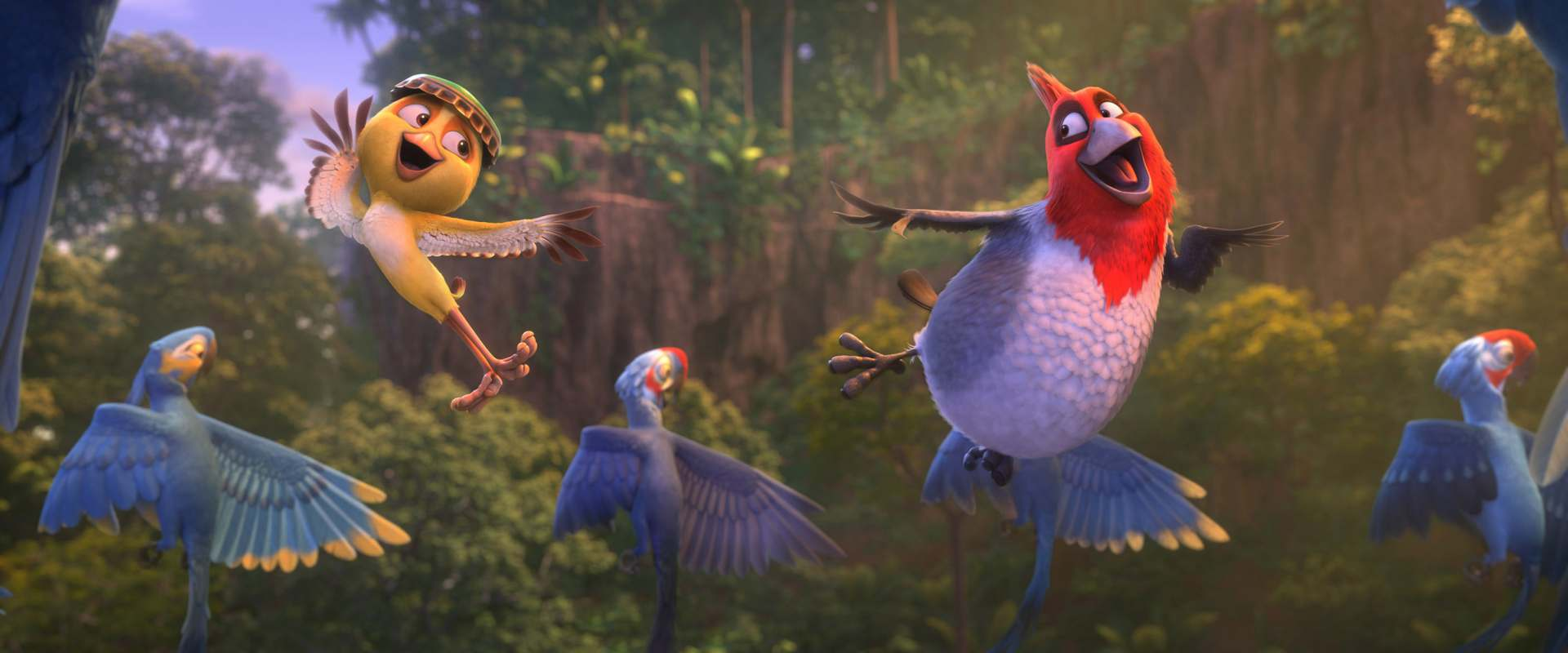 Rio 2 Characters Background Collection 8 Wallpapers