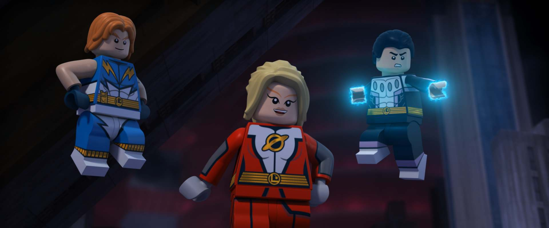 Lego DC Comics Super Heroes: Justice League - Cosmic Clash background 1