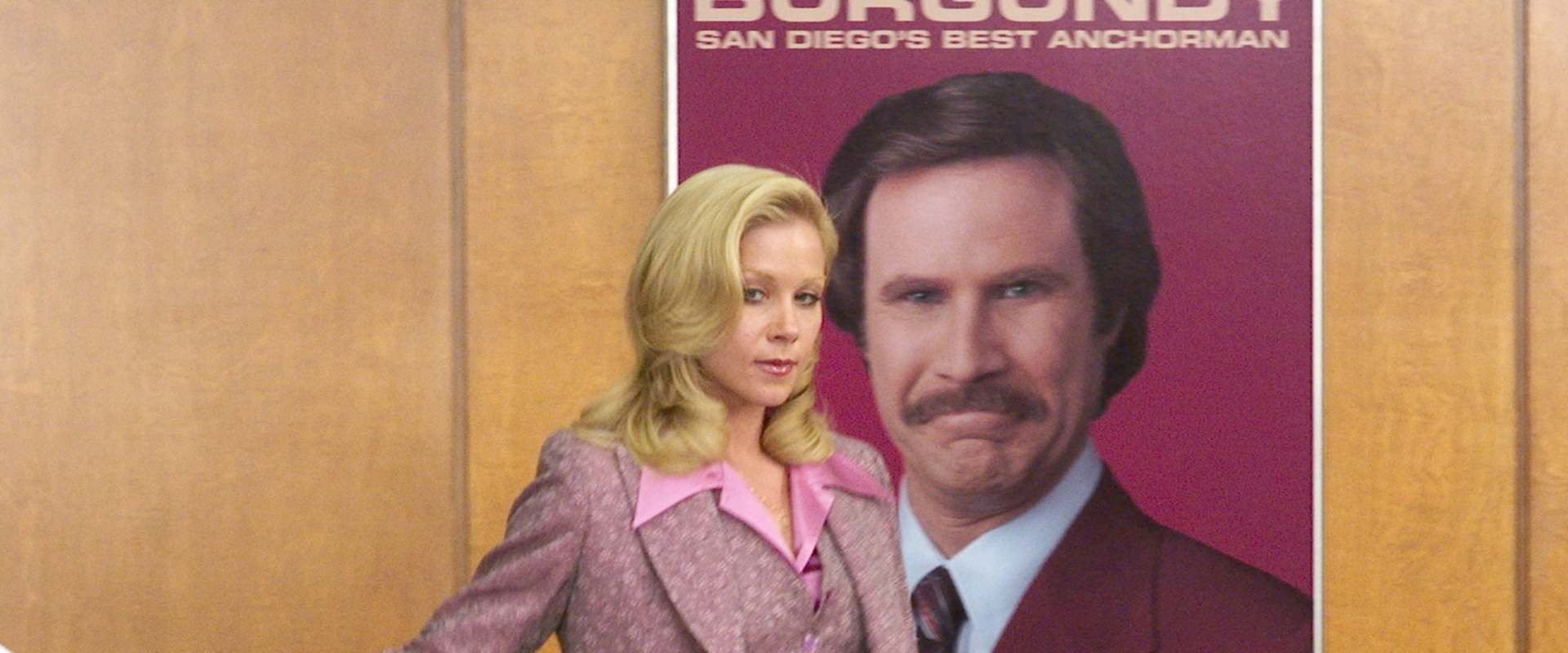 Anchorman: The Legend of Ron Burgundy background 2