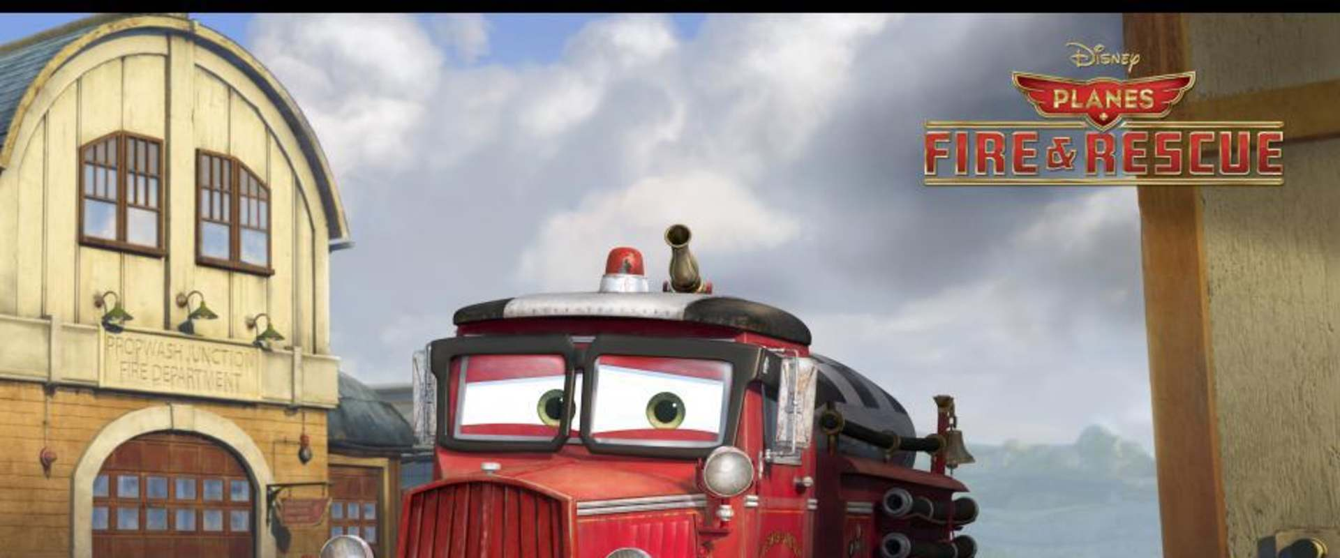Planes: Fire & Rescue background 1