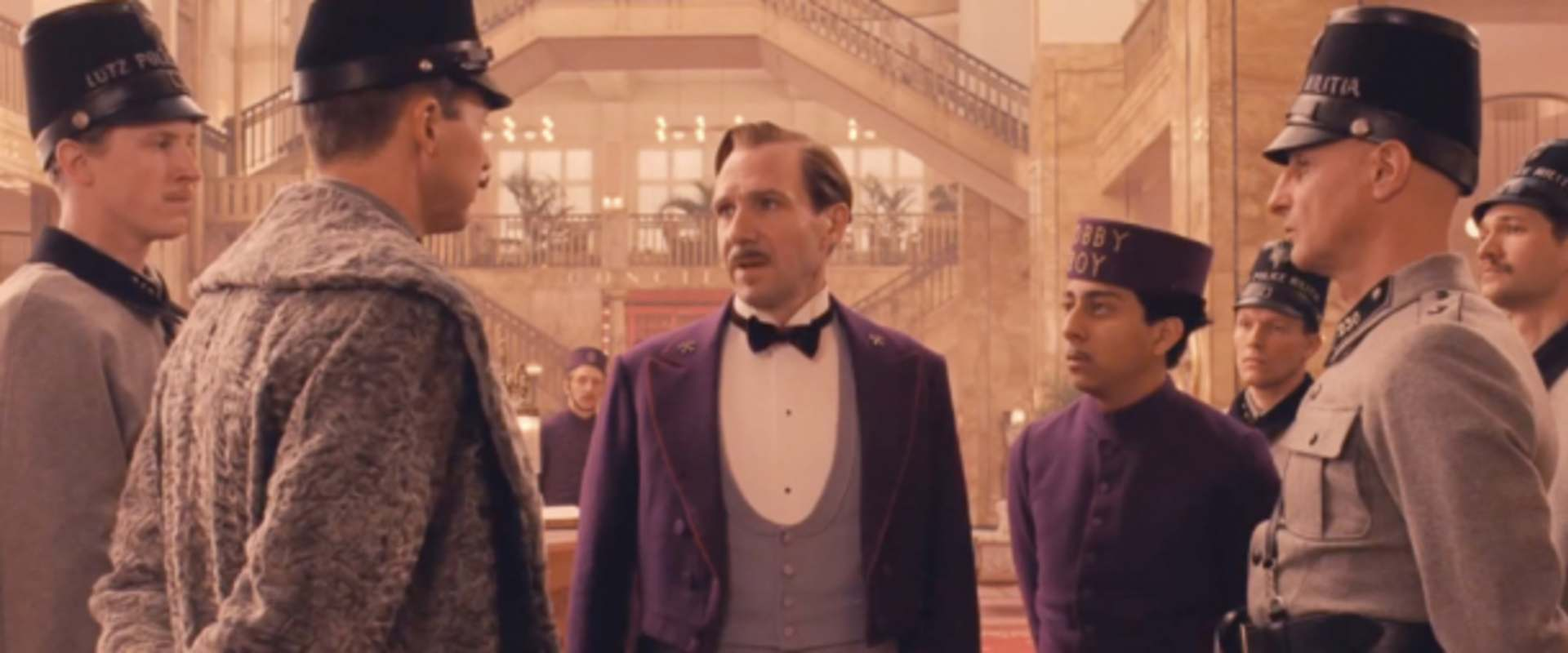 The Grand Budapest Hotel background 1