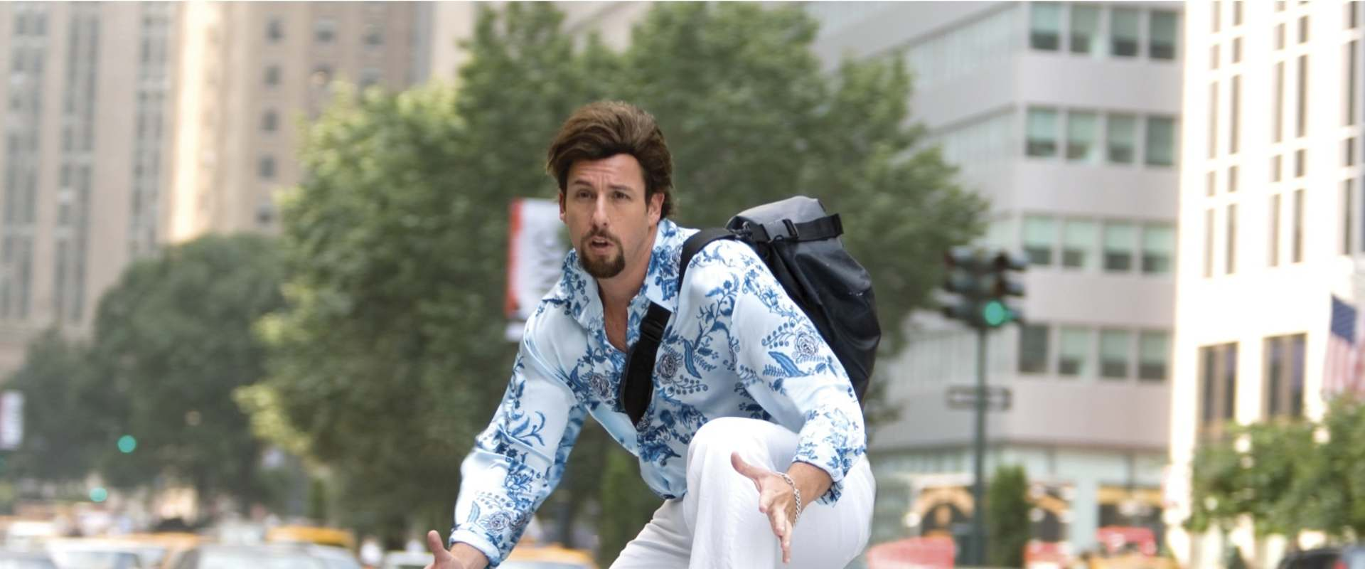 You Don't Mess with the Zohan background 1