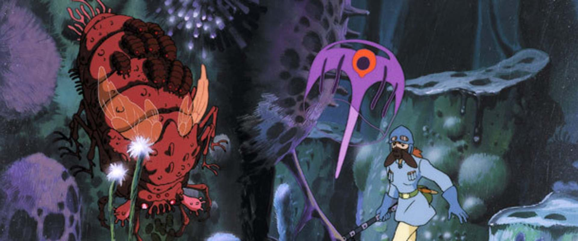 Nausicaä of the Valley of the Wind background 2