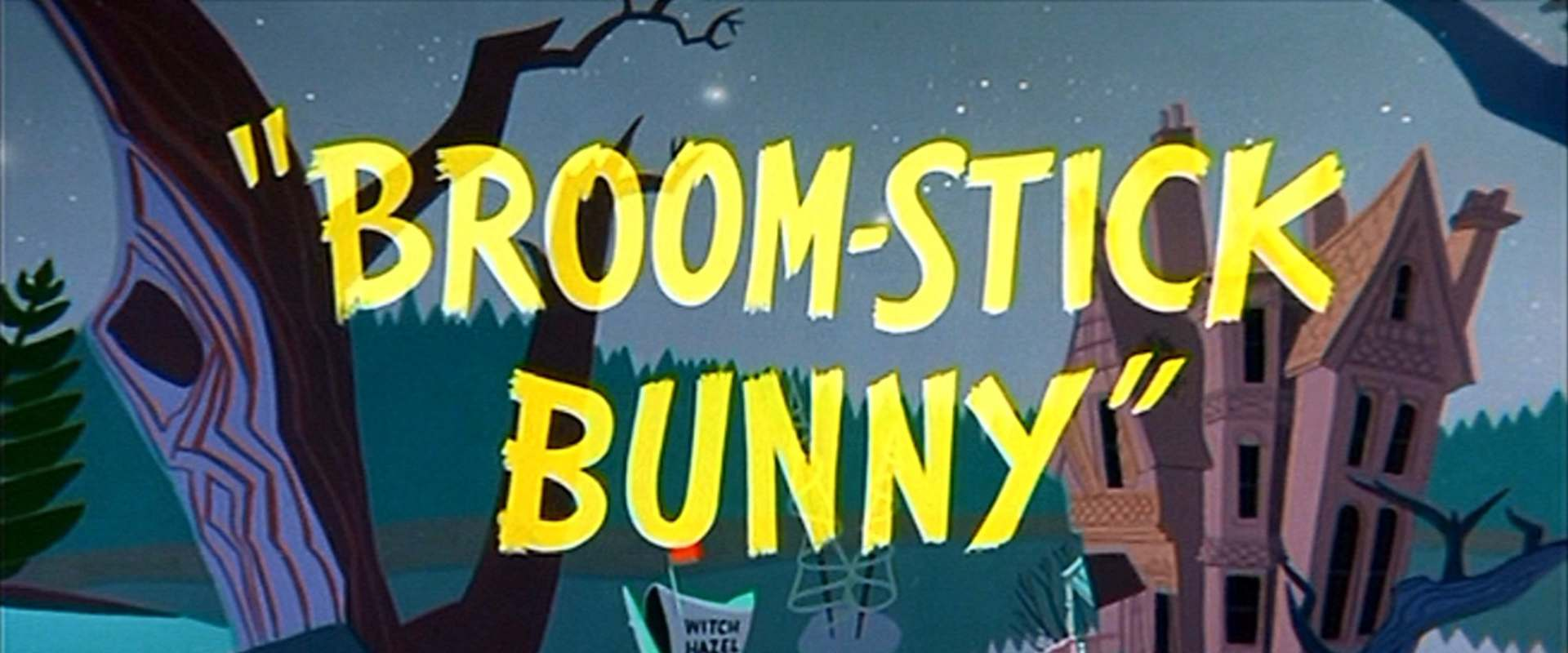 Broom-Stick Bunny background 2