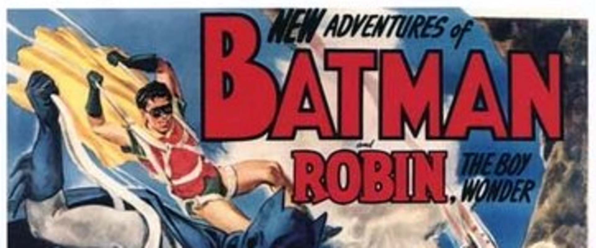 Batman and Robin background 2