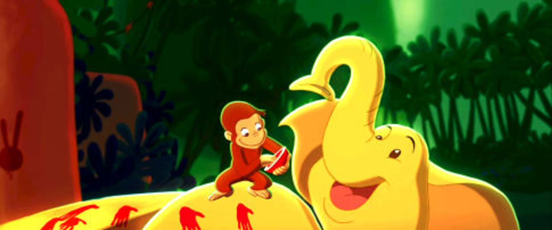 Curious George background 2