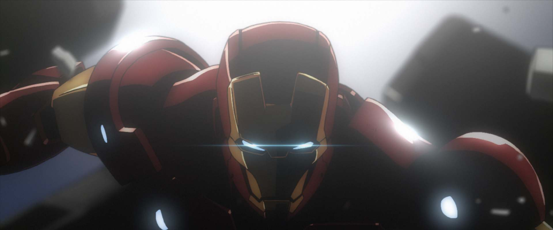 Iron Man: Rise of Technovore background 2