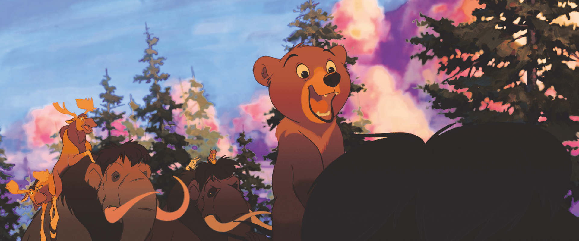 Brother Bear background 1