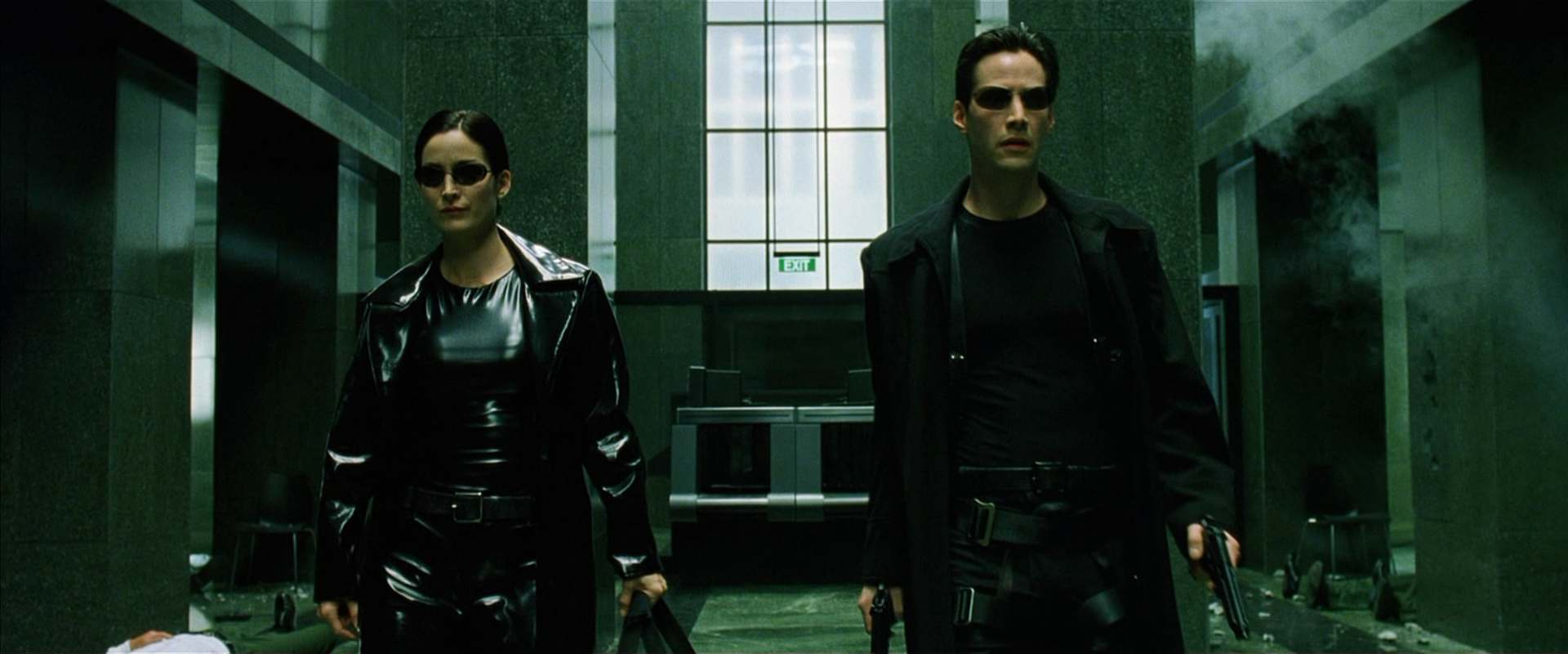 The Matrix background 1