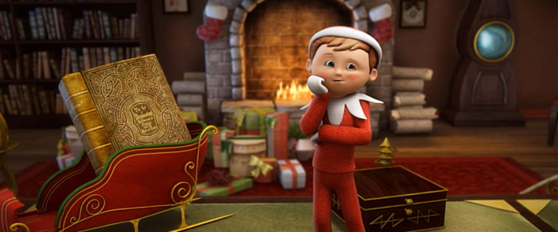 An Elf's Story: The Elf on the Shelf background 1