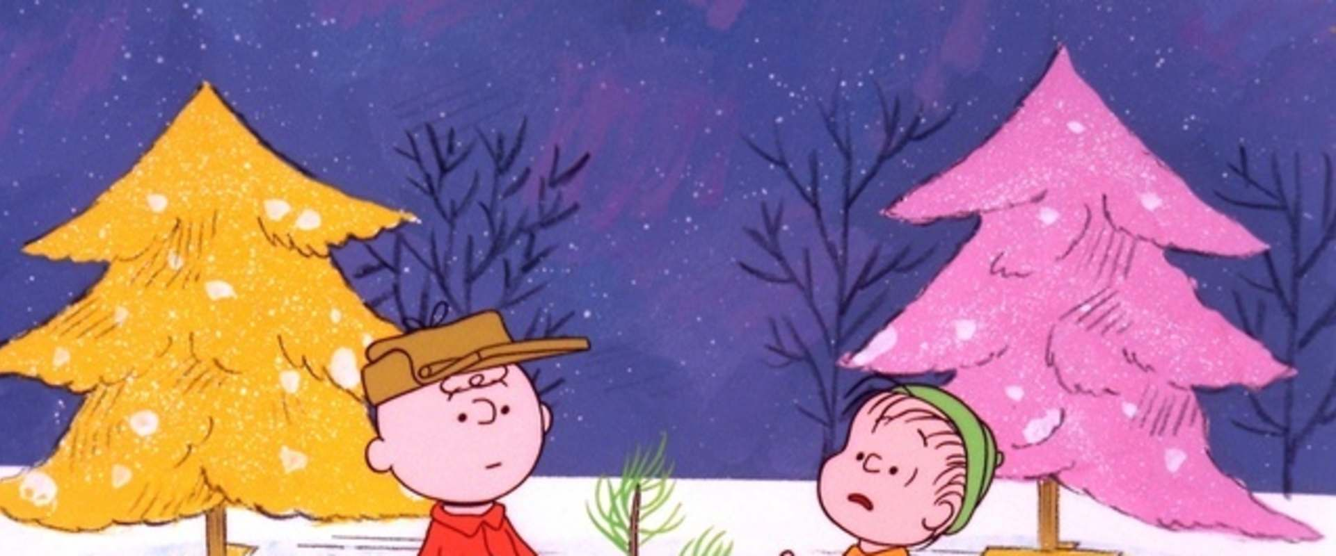 A Charlie Brown Christmas background 2