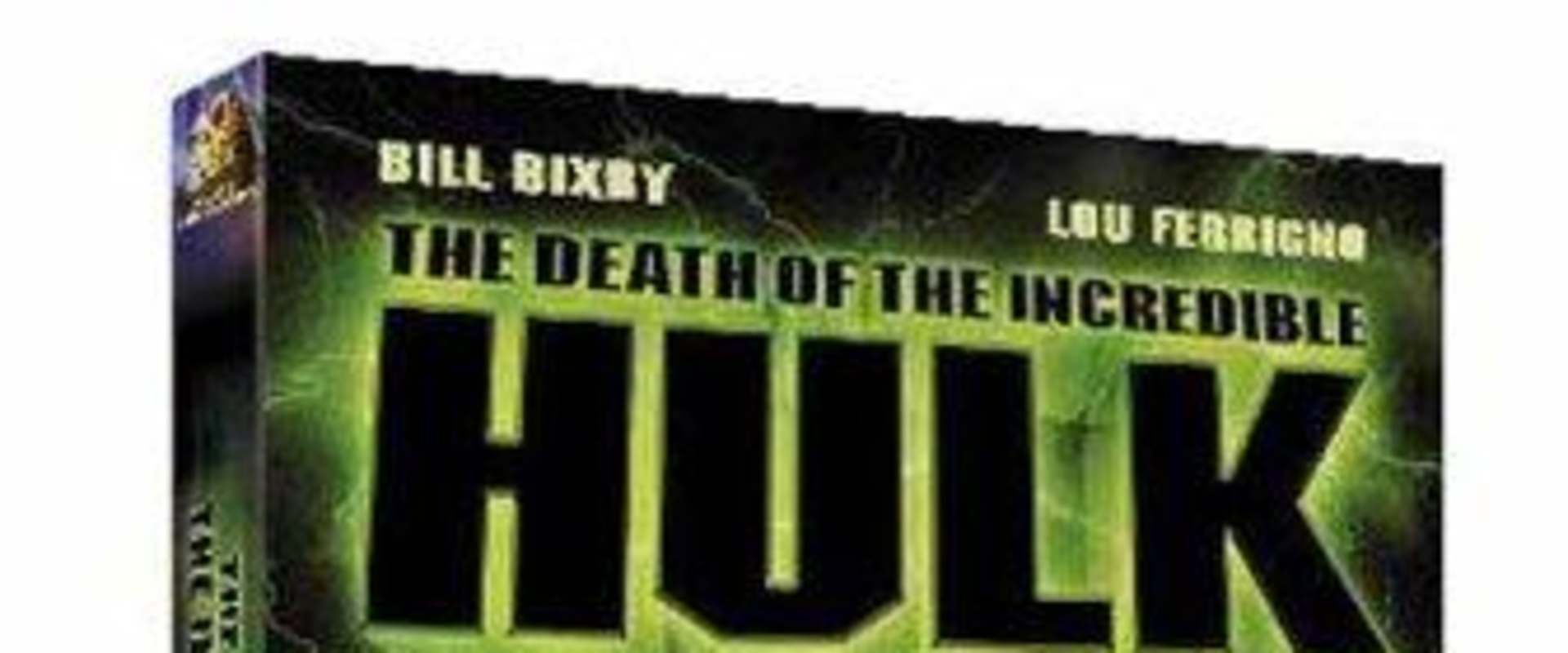 The Death of the Incredible Hulk background 1