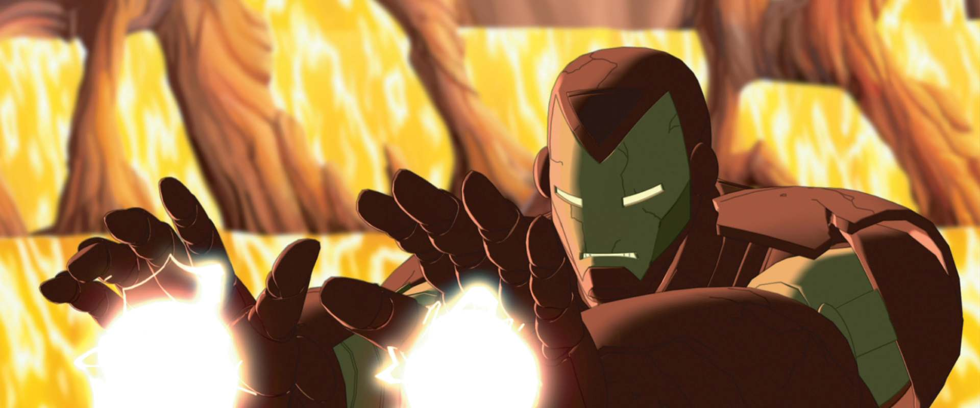 The Invincible Iron Man background 1