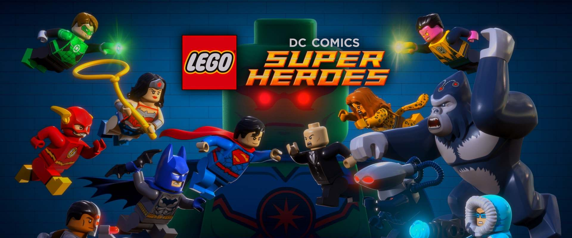 LEGO DC Super Heroes: Justice League - Attack of the Legion of Doom! background 1