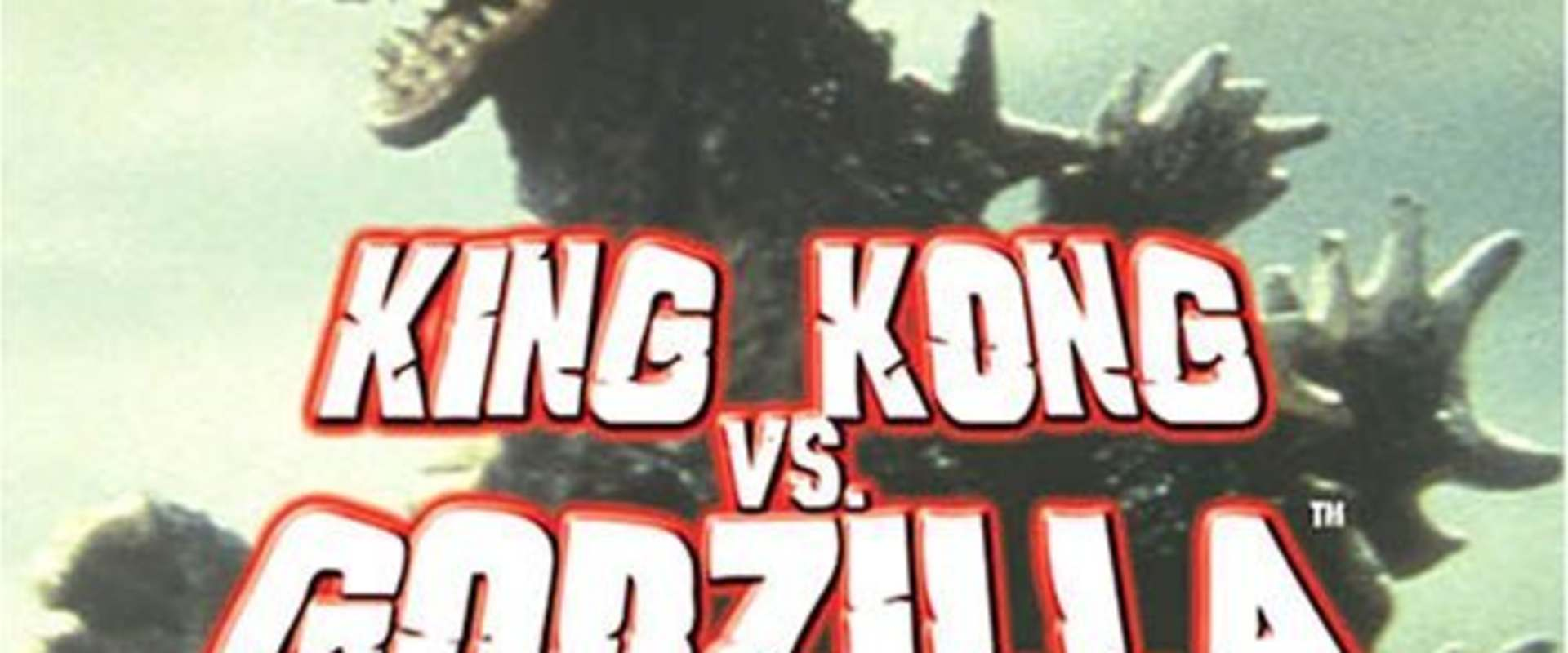 King Kong vs. Godzilla background 1