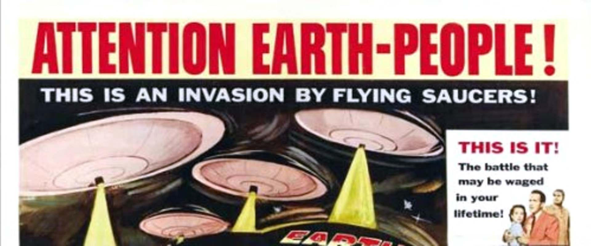 Earth vs. the Flying Saucers background 1