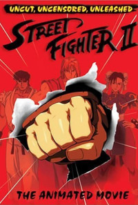 Street Fighter II: The Animated Movie Poster 1
