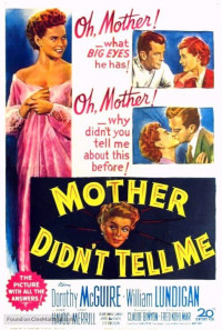 Mother Didn't Tell Me Poster 1