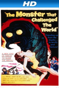 The Monster That Challenged the World Poster 1