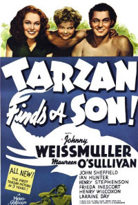 Tarzan Finds a Son! Poster 1