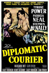Diplomatic Courier Poster 1