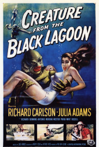 Creature from the Black Lagoon Poster 1