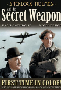 Sherlock Holmes and the Secret Weapon Poster 1