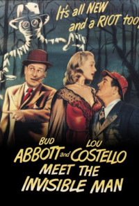 Abbott and Costello Meet the Invisible Man Poster 1
