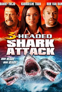 3-Headed Shark Attack Poster 1