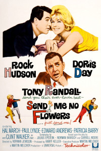 Send Me No Flowers Poster 1