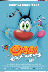Oggy and the Cockroaches: The Movie Poster 1