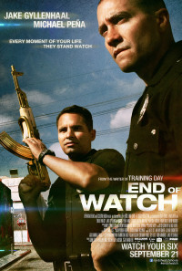 End of Watch Poster 1