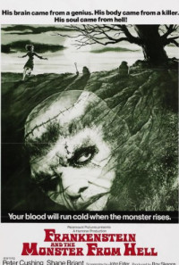 Frankenstein and the Monster from Hell Poster 1