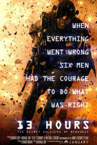 13 Hours: The Secret Soldiers of Benghazi Poster 1