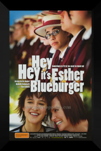 Hey Hey It's Esther Blueburger Poster 1