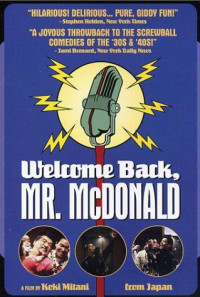 Welcome Back, Mr. McDonald Poster 1